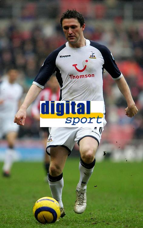 Photo: Andrew Unwin.<br /> Sunderland v Tottenham Hotspur. The Barclays Premiership. 12/02/2006.<br /> Tottenham's Robbie Keane.