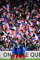joie des joueurs de l equipe de France apres le but de Ngolo Kante (France)