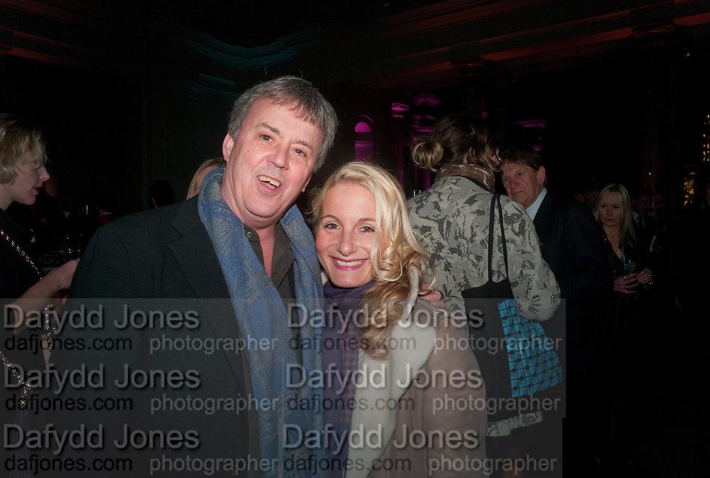 TONY ELLIOT; VIRGINIA DAMTSA, Cecil Beaton private view. V and A Museum. London. 6 February 2012