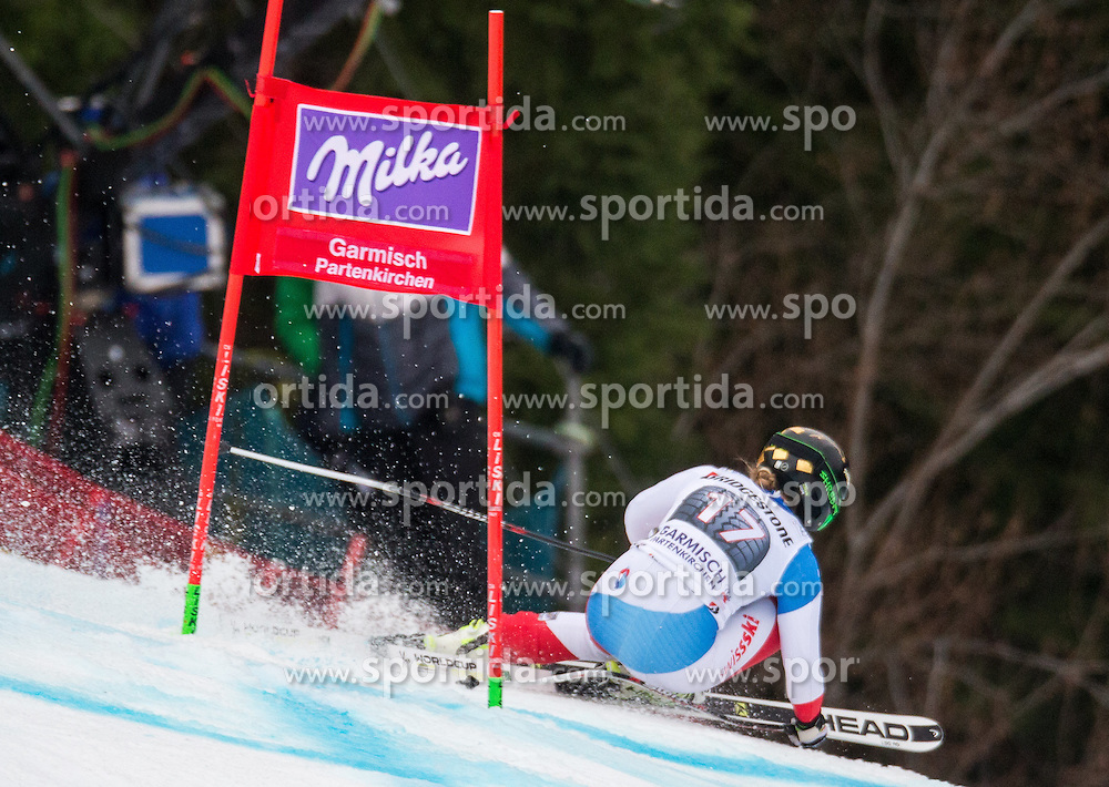 07.02.2016, Kandahar, Garmisch Partenkirchen, GER, FIS Weltcup Ski Alpin, Super G, Damen, im Bild Lara Gut (SUI, 1. Platz) // winner Lara Gut of Switzerlandcompetes during the ladies SuperG of Garmisch FIS Ski Alpine World Cup at the Kandahar course in Garmisch Partenkirchen, Germany on 2016/02/07. EXPA Pictures © 2016, PhotoCredit: EXPA/ Johann Groder