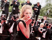 18.MAY.2011. CANNES<br /> <br /> DOUTZEN KROES ON THE RED CARPET FOR THE PREMIERE OF LA CONQUETE AT THE 64TH CANNES INTERNATIONAL FILM FESTIVAL 2011 IN CANNES, FRANCE.<br /> <br /> BYLINE: EDBIMAGEARCHIVE.COM<br /> <br /> *THIS IMAGE IS STRICTLY FOR UK NEWSPAPERS AND MAGAZINES ONLY*<br /> *FOR WORLD WIDE SALES AND WEB USE PLEASE CONTACT EDBIMAGEARCHIVE - 0208 954 5968*