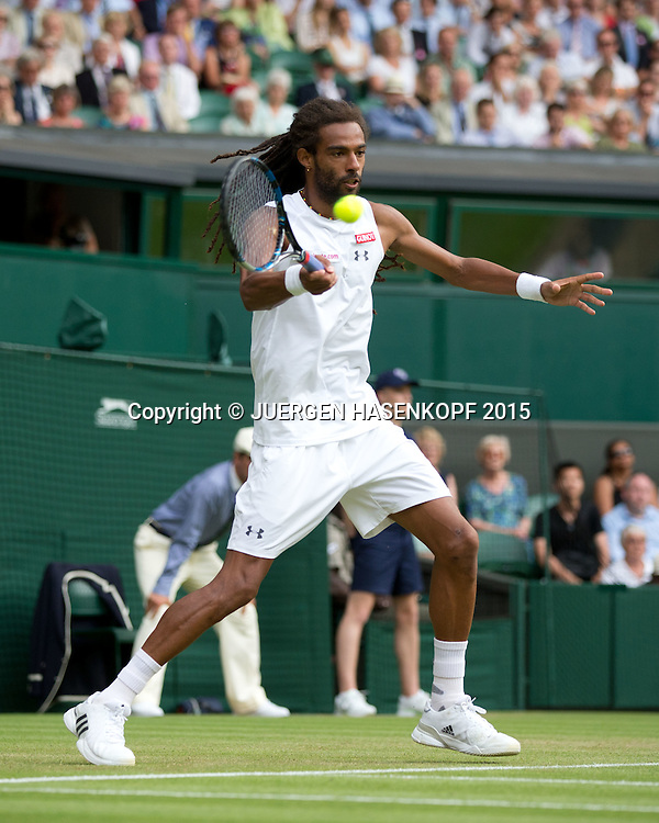 Dustin Brown (GER)<br /> <br /> Tennis - Wimbledon 2015 - Grand Slam ITF / ATP / WTA -  AELTC - London -  - Great Britain  - 2 July 2015.