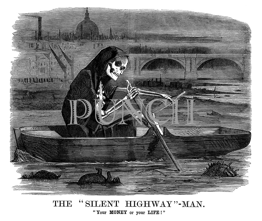 """The """"Silent Highway""""-Man. """"Your MONEY or your LIFE!"""""""