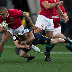 Jonathan Joseph, during game 4 of the British and Irish Lions 2017 Tour of New Zealand,The match between  Highlanders and British and Irish Lions, Forsyth Barr Stadium, Dunedin, Tuesday 13th June 2017<br /> (Photo by Kevin Booth Steve Haag Sports)<br /> <br /> Images for social media must have consent from Steve Haag