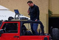 04-01-2020 NED: NK Beach volleyball Indoor, Aalsmeer<br /> Martijn Westerink, Presentator, Entertainer, Music Manager