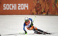 Alpint<br /> OL Sochi 2014<br /> 22.02.2014<br /> Foto: imago/Digitalsport<br /> NORWAY ONLY<br /> <br /> Henrik Kristoffersen of Norway competes during the Alpine Skiing Men s Slalom at the 2014 Sochi Winter Olympic Games in Sochi, Russia, Feb. 22, 2014. Henrik Kristoffersen won the bronze medal of the event.