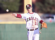 March 28, 2014: The McMurry University War Hawks play against the Oklahoma Christian University Eagles at Dobson Field on the campus of Oklahoma Christian University.