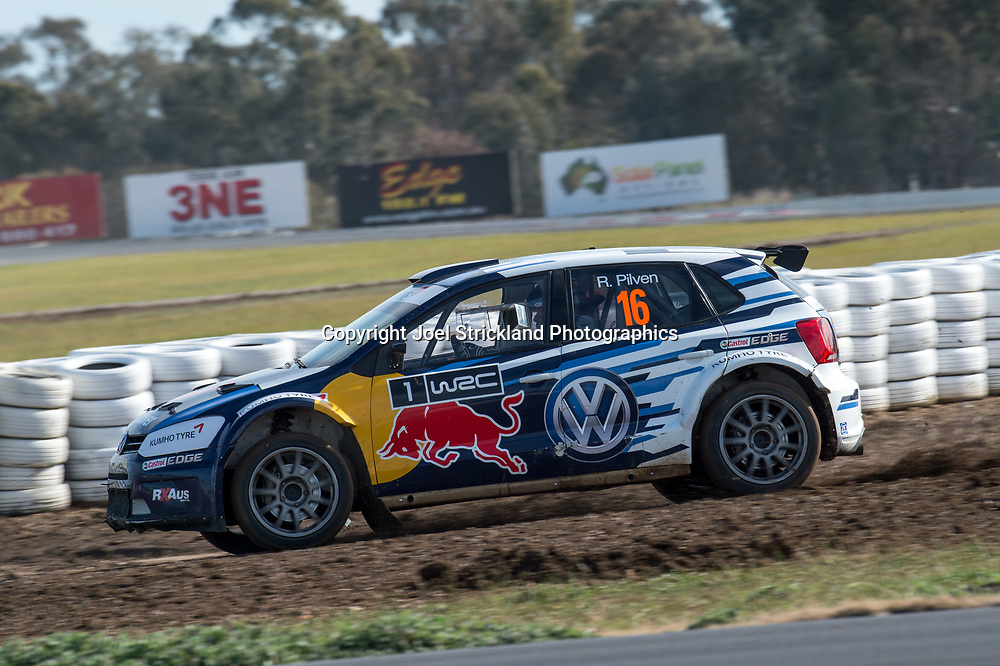 Russ Pilven - Volkswagen Polo - Rallycross Australia - Winton Raceway - 16th July 2017