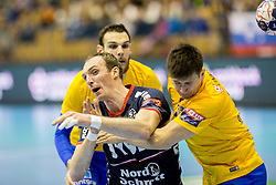 Holger Glandorf of SG Flensburg-Handewitt during handball match between RK Celje Pivovarna Lasko and SG Flensburg Handewitt in VELUX EHF Champions League, on November 26, 2017 in Dvorana Zlatorog, Celje Slovenia. Photo by Ziga Zupan / Sportida