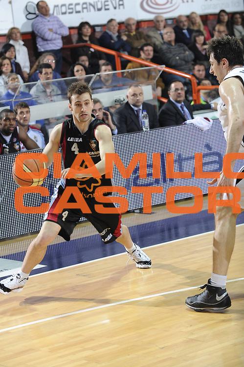 DESCRIZIONE : Caserta Lega A 2008-09 Eldo Caserta Solsonica Rieti<br /> GIOCATORE : Diego Grillo<br /> SQUADRA : Solsonica Rieti  <br /> EVENTO : Campionato Lega A 2008-2009 <br /> GARA : Eldo Caserta Solsonica Rieti<br /> DATA : 26/04/2009<br /> CATEGORIA : Palleggio<br /> SPORT : Pallacanestro <br /> AUTORE : Agenzia Ciamillo-Castoria/G.Ciamillo