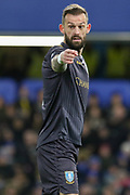 Sheffield Wednesday forward Steven Fletcher (9) gestures during the The FA Cup fourth round match between Chelsea and Sheffield Wednesday at Stamford Bridge, London, England on 27 January 2019.