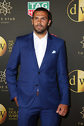 Players from the Westfield W-League and Hyundai A-League arrive on the red carpet for the 2018 Dolan Warren Awards at The Star Event Centre - 80 Pyrmont St, Pyrmont, NSW. 30 Apr 2018 Pictured: Nikolai Topor-Stanley, Newcastle Jets. Photo credit: Richard Milnes / MEGA TheMegaAgency.com +1 888 505 6342