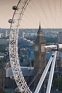 The London Eye / Millennium Wheel, Looking West, London, Britain - 2009