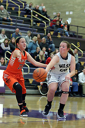 19 November 2016:  Normal Community Lady Ironmen v Normal West Wildcasts at Girls Intercity in the gym at Bloomington High School, Bloomington IL