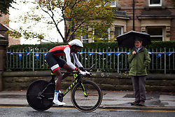 Teniel Campbell (TTO at UCI Road World Championships 2019 Elite Women's TT a 30.3 km individual time trial from Ripon to Harrogate, United Kingdom on September 24, 2019. Photo by Sean Robinson/velofocus.com