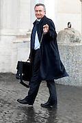 2013/03/29 Roma, politici in Piazza Montecitorio. Nella foto Filippo Bubbico.<br /> Rome, politicians in Montecitorio Square. In the picture Filippo Bubbico - &copy; PIERPAOLO SCAVUZZO