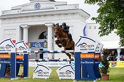 WULSCHNER Benjamin (GER), Quinny Madoc<br /> Redefin - Pferdefestival 2019<br /> Großer Preis der Deutschen Kreditbank AG<br /> BEMER Riders Tour - Wertungsprüfung<br /> Große Tour – Finale: Int. Weltranglisten-Springprüfung (1,60m) mit zwei Umläufen<br /> 26. Mai 201<br /> © www.sportfotos-lafrentz.de/Stefan Lafrentz