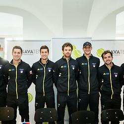 20180130: SLO, Tennis - Davis Cup 2018, Slovenia vs Poland, Press conference