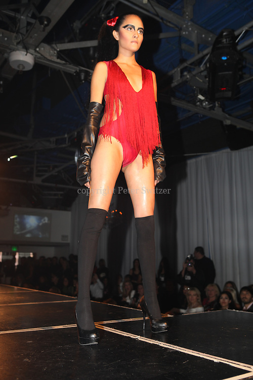"Six fashion designers competed for ""Hollywood's Top Designer Award"" during LA Fashion Week at Factory in W. Hollywood, California March 15, 2012."