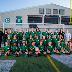 Newman Girls Middle School Soccer Portraits