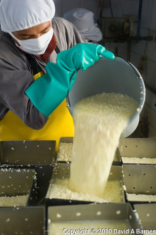 Cooperative cheese factory, Salinas de Guaranda, Ecuador