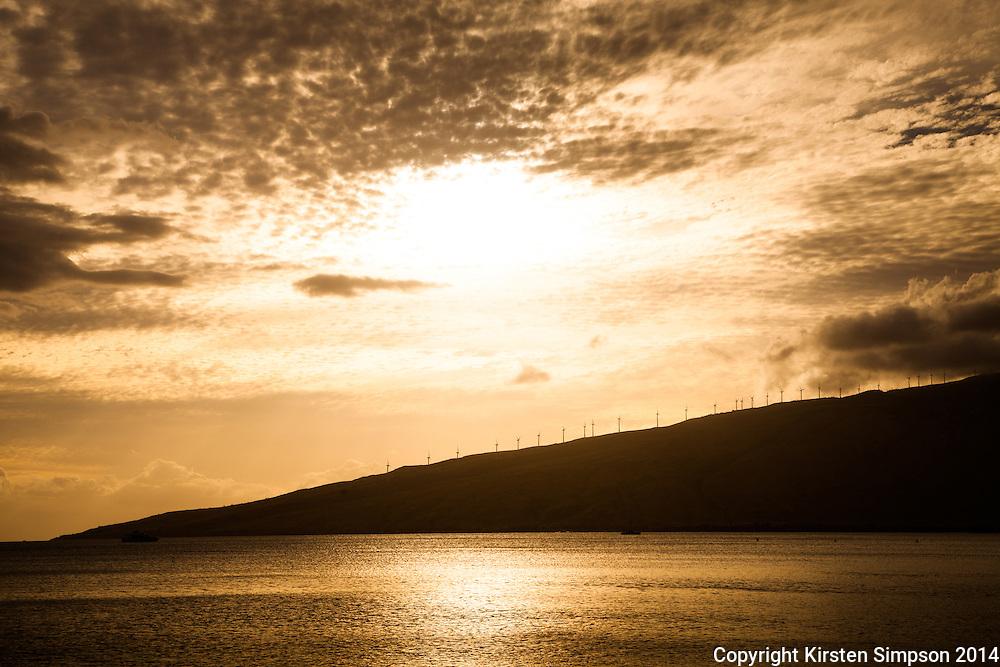 Looking across Maalaea Bay