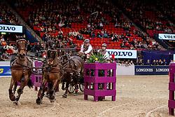 De Ronde Koos, NED, 5A Amadeo V - 5B Palero - 5C Celina 6 - 5D Joep<br /> Gothenburg Horse Show FEI World Cups 2017<br /> © Hippo Foto - Stefan Lafrentz<br /> 26/02/17