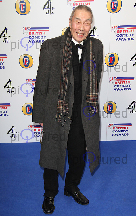 Burt Kwouk British Comedy Awards, O2 Arena, London, UK, 22 January 2011: Contact: Ian@Piqtured.com +44(0)791 626 2580 (Picture by Richard Goldschmidt)