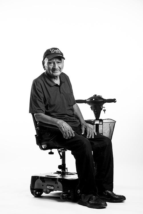 Federico Enriquez<br /> Army<br /> E-4<br /> Construction Engineer<br /> 1949 - 1952<br /> Korea<br /> <br /> Veterans Portrait Project<br /> Colorado Springs, CO San Antonio, Texas
