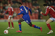 Jonathan Forte (Oldham Atheltic) runs with the ball during the Sky Bet League 1 match between Barnsley and Oldham Athletic at Oakwell, Barnsley, England on 12 April 2016. Photo by Mark P Doherty.
