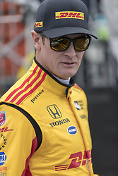 March 10, 2018 - St. Petersburg, Florida, United States of America - March 10, 2018 - St. Petersburg, Florida, USA: Ryan Hunter-Reay (28) walks to his car before a practice session for the Firestone Grand Prix of St. Petersburg at Streets of St. Petersburg in St. Petersburg, Florida. (Credit Image: © Walter G Arce Sr Asp Inc/ASP via ZUMA Wire)