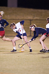 Virginia Cavaliers A Blair Weymouth (2)<br /> <br /> The Virginia Cavaliers Women's Lacrosse team defeated the Richmond Spiders 13-5 at Kl?ckner Stadium in Charlottesville, VA on February 28, 2007.