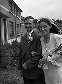 1952 Malady and McKeever Wedding at Donnycarney Church
