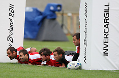 Invercragill-Rugby, RWC, Georgia captains run
