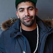 NLD/Hilversum/20121206 - Presentatie Ali B. op volle toeren, rapper Sjaak