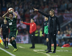 February 23, 2019 - Bilbao, Spain - Bilbao, northern Spain, Sunday, February, 23, 2019. Coach Gaizka Garitano during the Spanish La Liga soccer match between Athletic Club Bilbao and S.D Eibar at San Mames stadium. (Credit Image: © Gtres/NurPhoto via ZUMA Press)