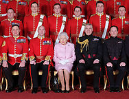 22.03.2018, Windsor; UK: PRINCE ANDREW APPOINTED COLONEL OF GRENADIER GUARDS<br /> The Duke of York was accompanied by Queen Elizabeth for the event held in St George&rsquo;s Hall, Windsor Castle.<br /> Mandatory Credit Credit Photo: NEWSPIX INTERNATIONAL<br /> <br /> IMMEDIATE CONFIRMATION OF USAGE REQUIRED:<br /> Newspix International, 31 Chinnery Hill, Bishop's Stortford, ENGLAND CM23 3PS<br /> Tel:+441279 324672  ; Fax: +441279656877<br /> Mobile:  07775681153<br /> e-mail: info@newspixinternational.co.uk<br /> *All fees payable to Newspix International*