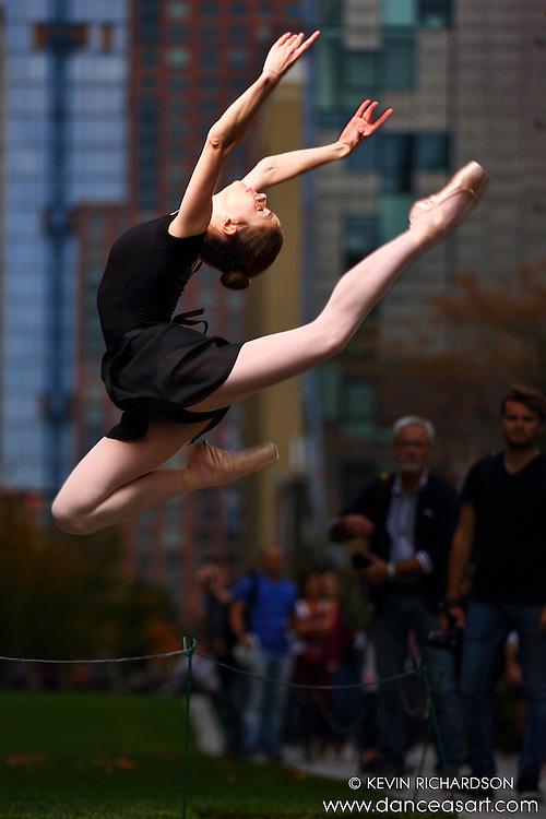 Dance As Art New York City Photography Project Highline Series with dancer, Madlena Bobeva.