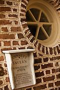 Historic marker on Poinsett House Charleston, SC.