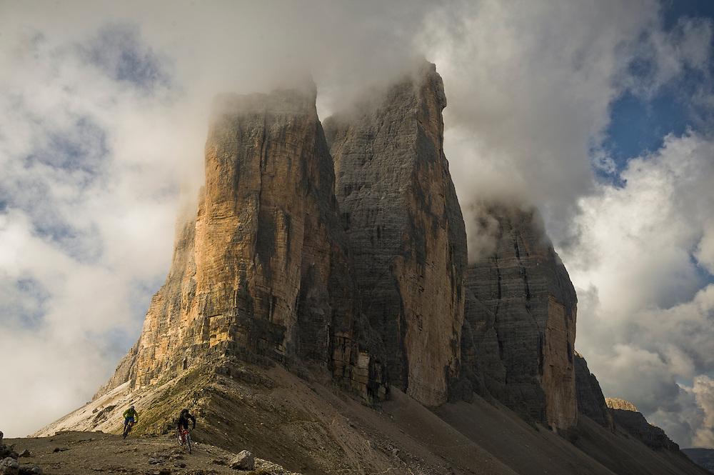 Josh Ibbett & Rob Dean, Dolomites, Italy.