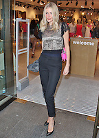 LONDON - June 013: Donna Air at Esprit Launch in Regent Street