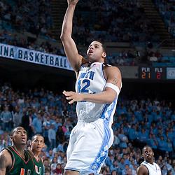 2005-01-22 Miami at North Carolina Tar Heels Basketball