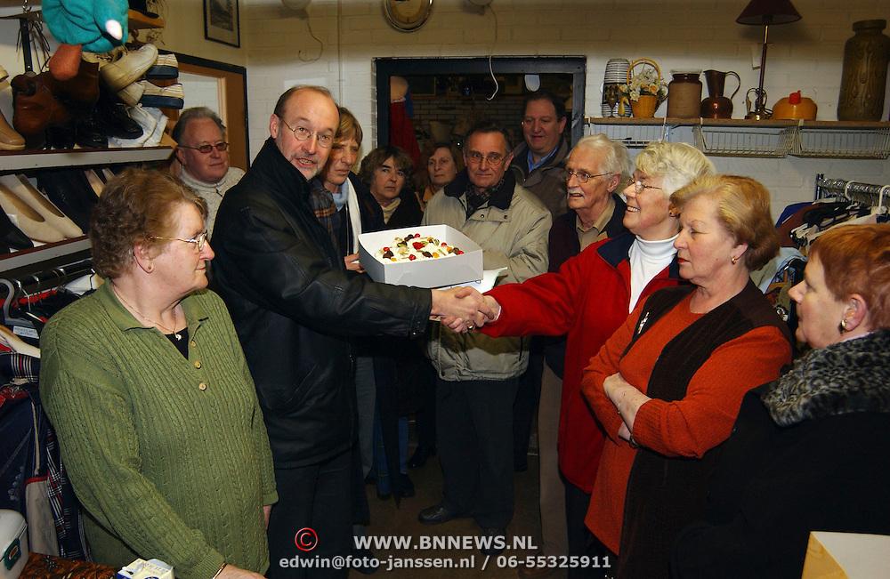 D'66 Valentijnstaart aan de vrijwilligers van Servitas Poolvos 2 Huizen