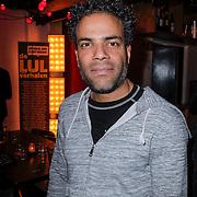 NLD/Amsterdam/20121121 - Presentatie deelnemers comedy avond Lulverhalen, Jeffrey Spalburg
