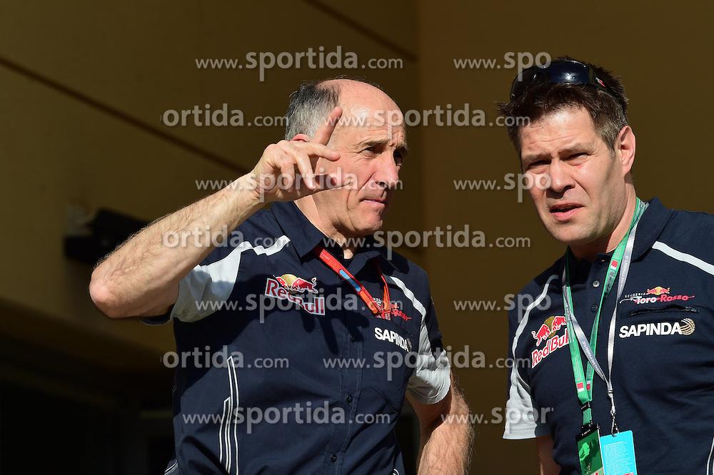 03.04.2016, International Circuit, Sakhir, BHR, FIA, Formel 1, Grand Prix von Bahrain, Rennen, im Bild Franz Tost (AUT) Scuderia Toro Rosso Team Principal // during Race for the FIA Formula One Grand Prix of Bahrain at the International Circuit in Sakhir, Bahrain on 2016/04/03. EXPA Pictures &copy; 2016, PhotoCredit: EXPA/ Sutton Images<br /> <br /> *****ATTENTION - for AUT, SLO, CRO, SRB, BIH, MAZ only*****