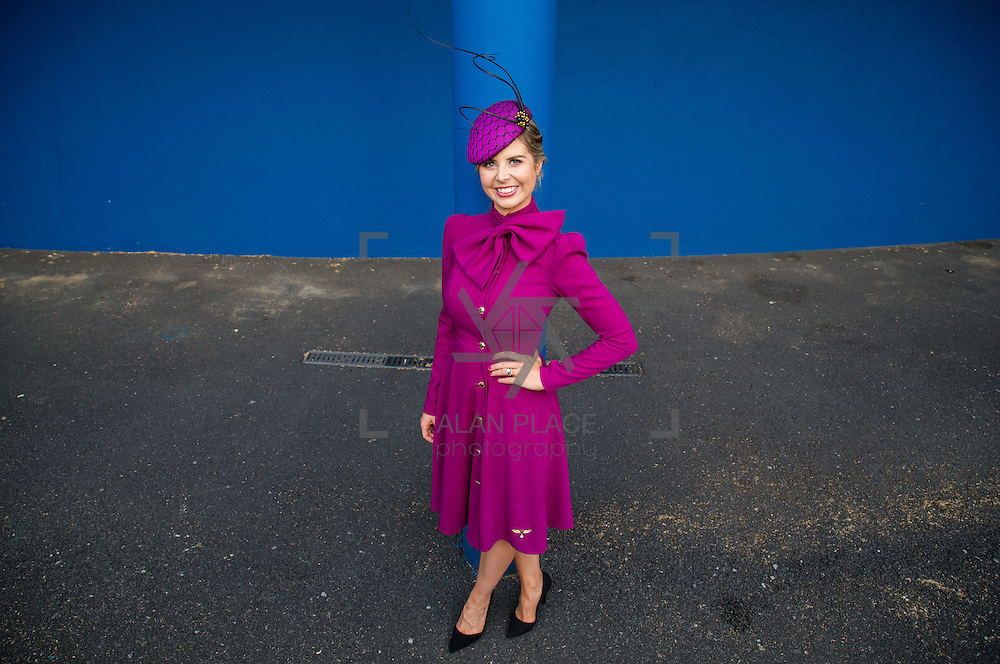09.10.2016           <br /> The winner of the Keanes Jewellers Best dressed competition at Limerick Racecourse was Sharon Kennedy of Clareview Limerick who won a diamond pendent to the value of &euro;4,000. Picture: Alan Place