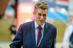 © Licensed to London News Pictures. 02/10/2017. Manchester, UK. Chief Whip of the Conservative Party GAVIN WILLIAMSON seen on the second day of the Conservative Party Conference. The four day event is expected to focus heavily on Brexit, with the British prime minister hoping to dampen rumours of a leadership challenge. Photo credit: Ben Cawthra/LNP