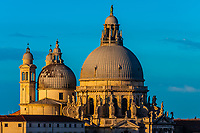 Basilica di Santa Maria della Salute, Venice, Italy.