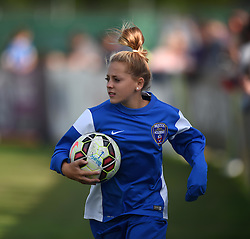 Bristol Academy ball-girl at Stoke Gifford Stadium - Mandatory by-line: Paul Knight/JMP - 25/07/2015 - SPORT - FOOTBALL - Bristol, England - Stoke Gifford Stadium - Bristol Academy Women v Sunderland AFC Ladies - FA Women's Super League