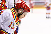 2020-02-01 | Ljungby, Sweden: Skövde IK (13) Jesper Erlandsson during the game between IF Troja / Ljungby and Skövde IK at Ljungby Arena ( Photo by: Fredrik Sten | Swe Press Photo )<br /> <br /> Keywords: Ljungby, Icehockey, HockeyEttan, Ljungby Arena, IF Troja / Ljungby, Skövde IK, fsts200201, ATG HockeyEttan, Allettan